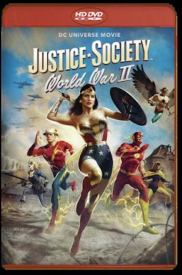 Justice Society World War II [2021] [DVDR BD] [Latino]
