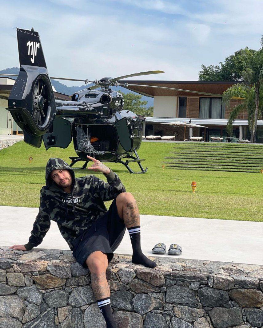 Neymar se compra un helicóptero de 10 millones de dólares