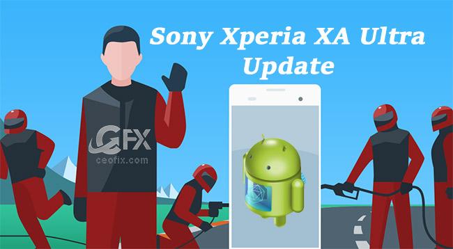 Sony Xperia XA Ultra 36.1.A.1.86 Yazılım Güncellemesi