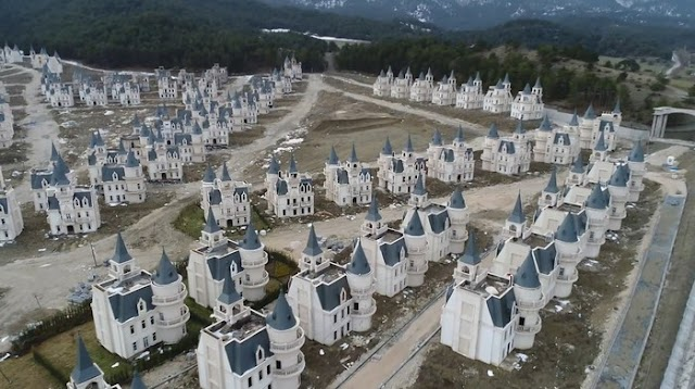 The town owns more than 600 mysterious 'ghost castles' in Turkey