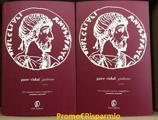 Logo Vinci gratis il romanzo ''Giuliano'' di Gore Vidal