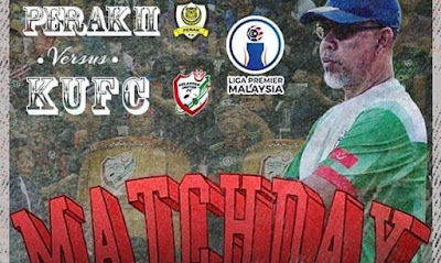 Live Streaming Perak II vs Kelantan United Liga Premier 1.3.2020