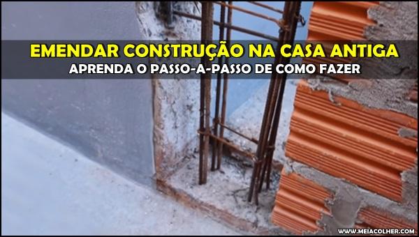emenda de construção