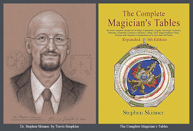 Stephen Skinner. The Complete Magician's Tables. Ceremonial Magick. by Travis Simpkins