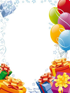 Moldura para aniversarios