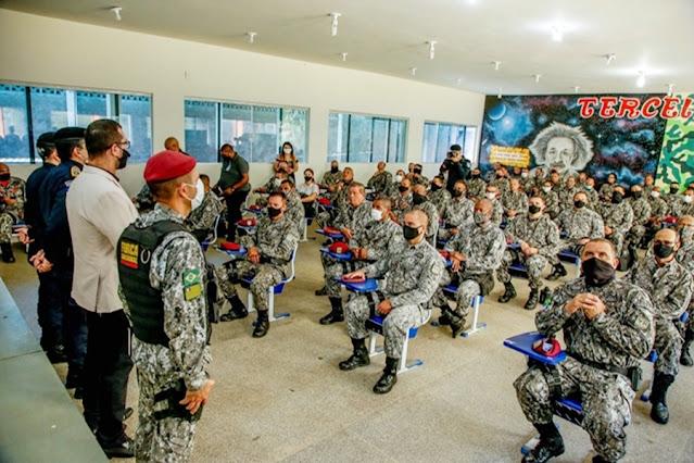 SEGURANÇA: Governo de RO recebe reforço de mais 70 homens da Força Nacional