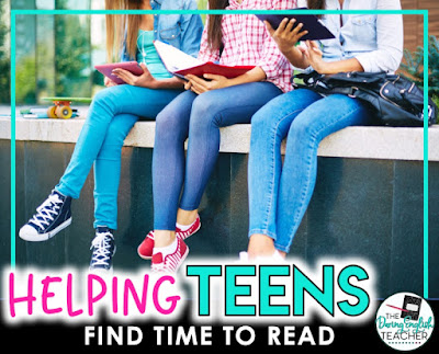 Helping Teens Find Time to Read