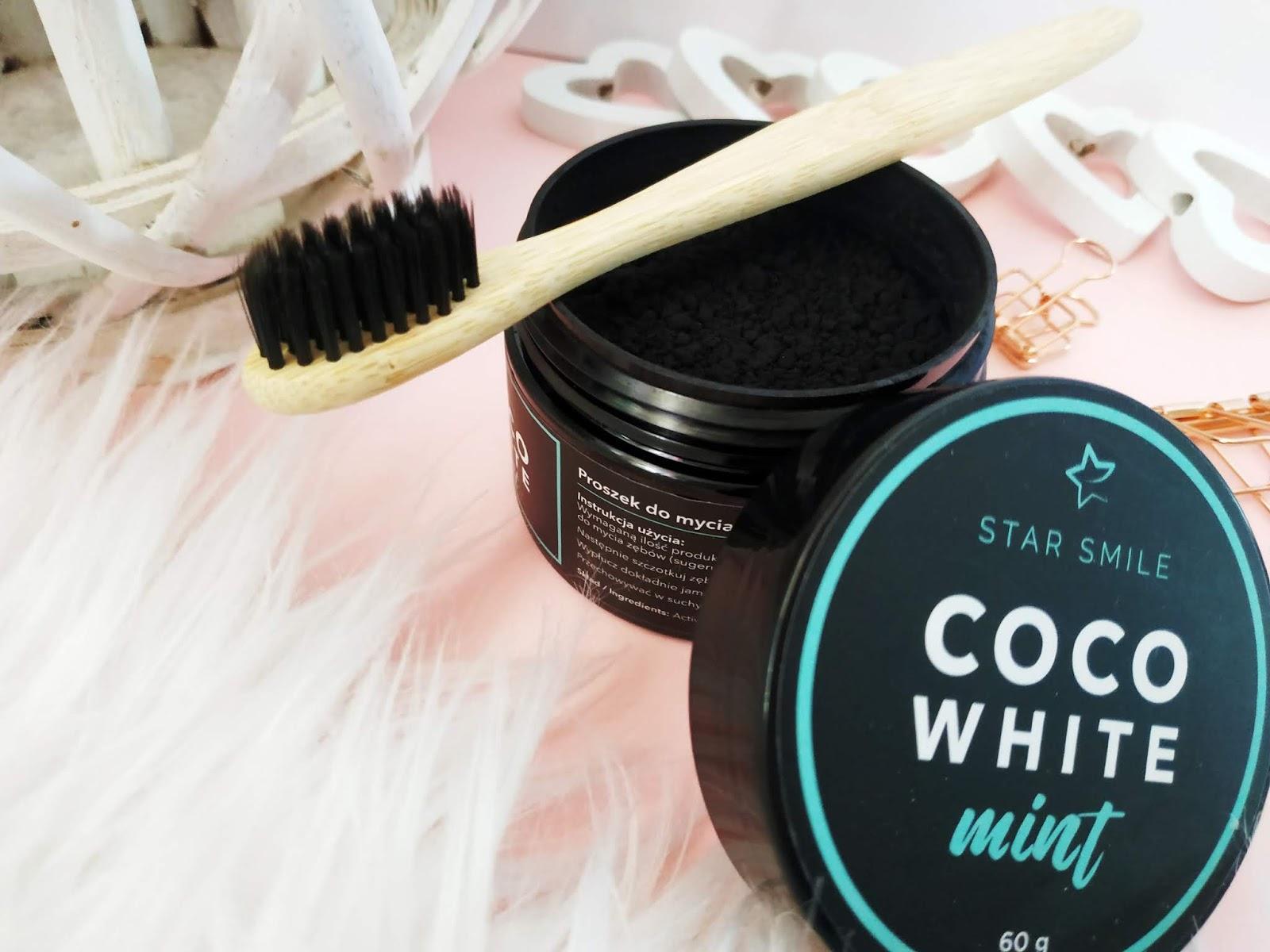 Najlepsza metoda do wybielania zębów, Coco white mint