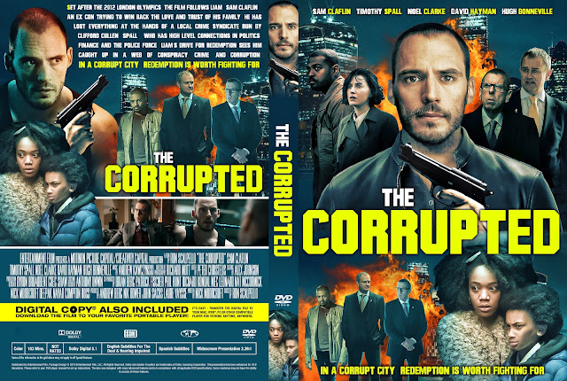 The Corrupted DVD Cover