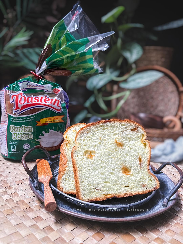 Roti Gardenia Toast'em Pandan Kelapa
