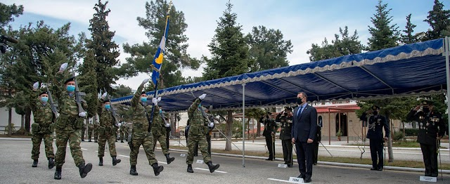 Ο Παναγιωτόπουλος στις τελετές παραλαβής Δ' ΣΣ-ΧΧ ΤΘΜ (11 ΦΩΤΟ)
