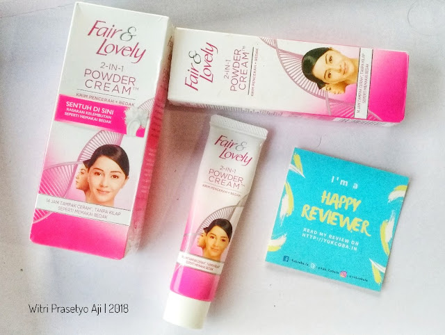 REVIEW FAIR & LOVELY 2-IN-1 POWDER CREAM