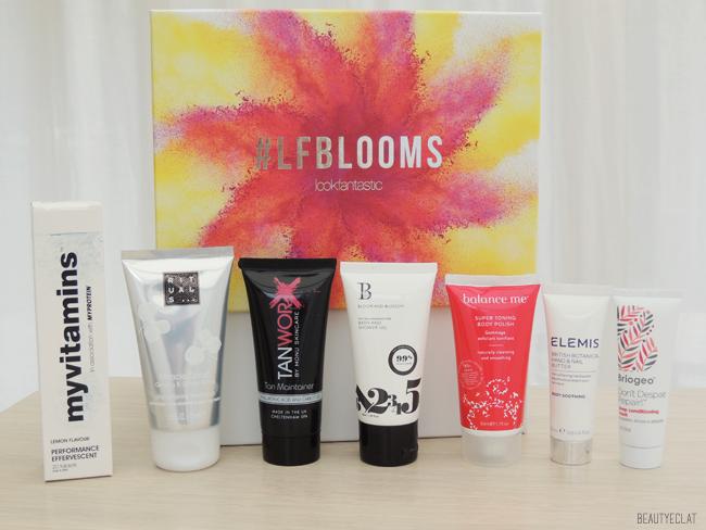 lookfantastic beauty box blooms edition