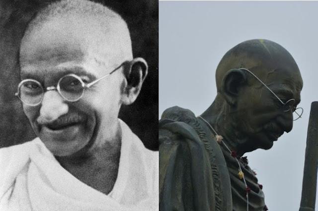 Estatua de Mahatma Gandhi para Ereván