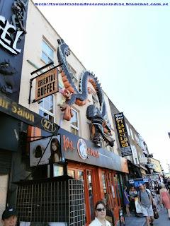 Impresionantes fachadas en Camden High Street.