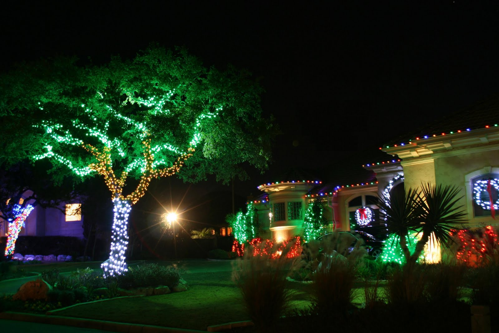 Outdoor Lighting Christmas Decorating Pictures