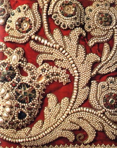 Aari embroidery work