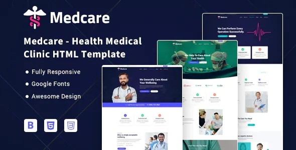 Best Health Medical Clinic HTML Template