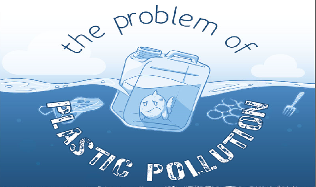 The Problem of Plastic Pollution #infographic