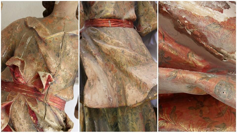 Repertorio textil de los ángeles de Binissalem