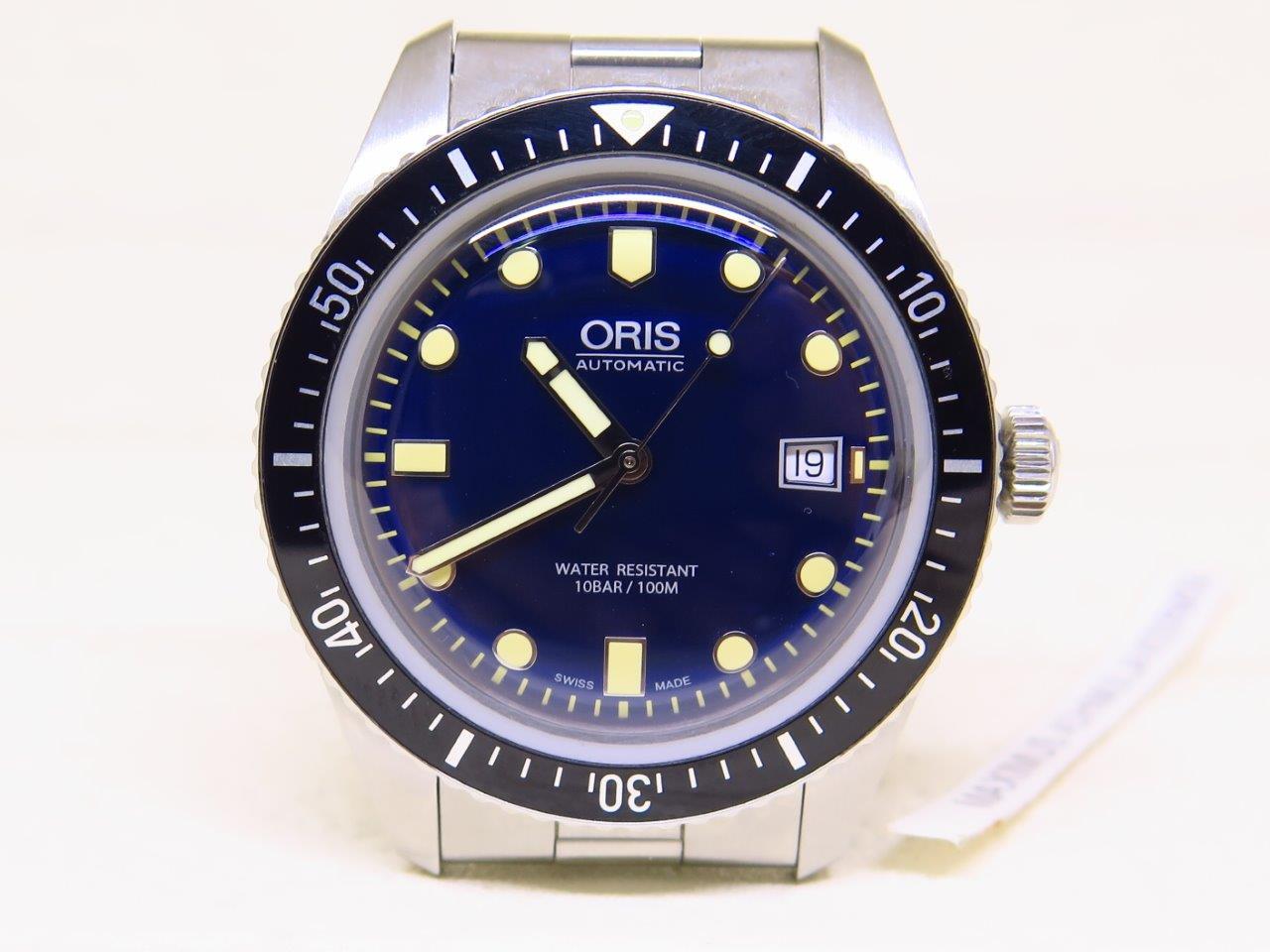 ORIS DIVER 100M BLUE DIAL - AUTOMATIC