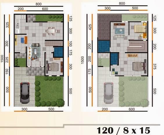 desain rumah minimalis terbaru type 120 blog koleksi