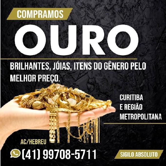 AC/HEBREU - COMPRAMOS OURO em Curitiba e Região Metropolitana