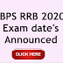 IBPS RRB 2020 Exam date announced