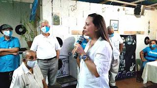 MARIA CORINA MACHADO LLAMA A LA ORGANIZACIÓN