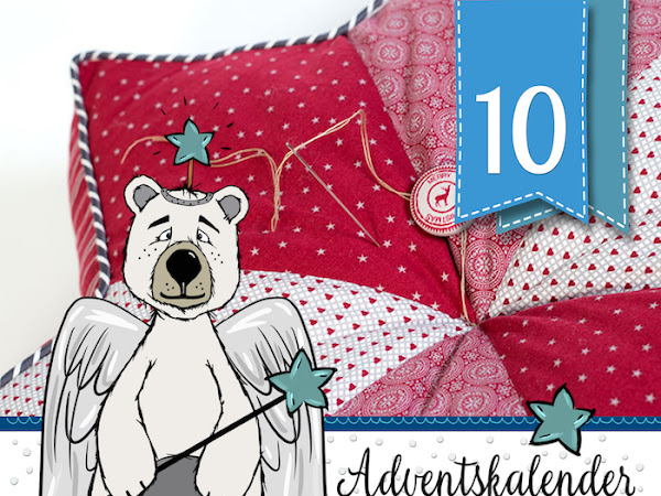 Sternkissen DIY-Tutorial von Pattydoo - Adventskalender - Türchen Nr.10