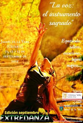 Extredanza  2015. La Voz, el Instrumento Sagrado