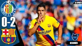 Getafe vs Barcelona 0-2 All Goals And Match Highlights [MP4 & HD VIDEO]