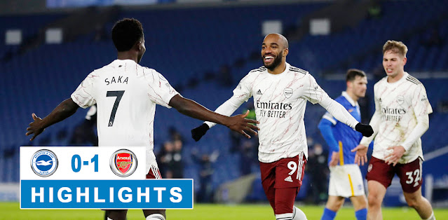 Brighton & Hove Albion vs Arsenal – Highlights