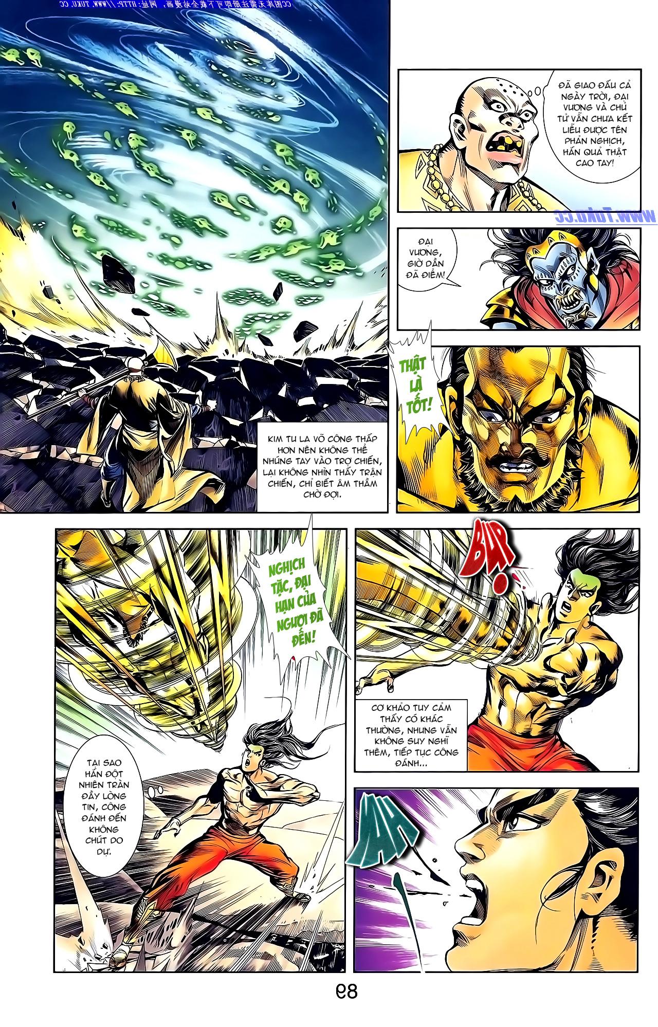 Cơ Phát Khai Chu Bản chapter 148 trang 23