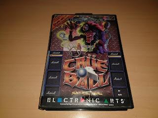 crue ball megadrive electronic arts pinball