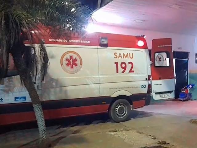 Mulher de 60 é hospitalizada após levar surra do marido de 33 anos em bebedeira