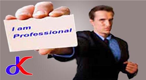 """Profesional dalam bisnis - """"Kunci sukses""""   bagian 1"""