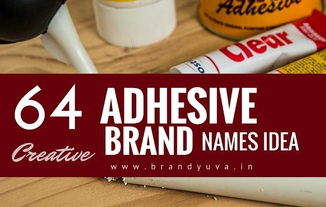 adhesive brand names idea