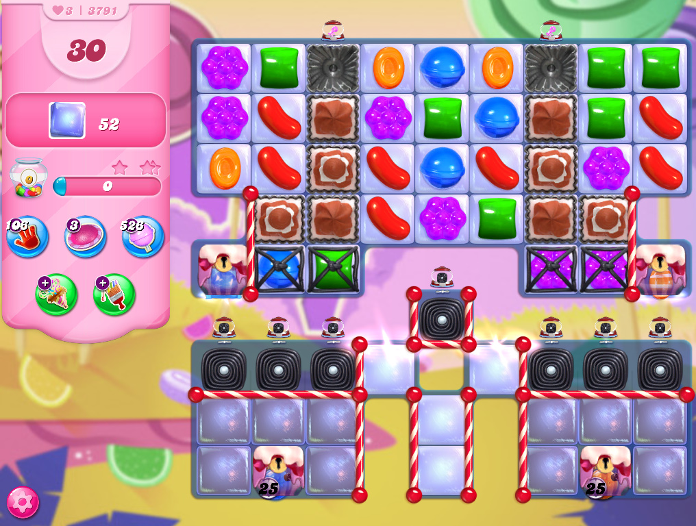 Candy Crush Saga level 3791
