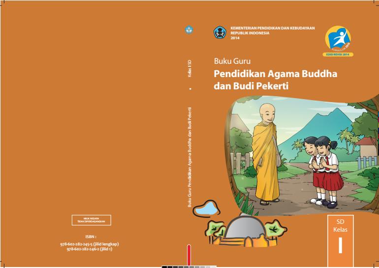 Download Gratis Buku Guru Pendidikan Agama Budha Dan Budi Pekerti Kelas 1 SD Kurikulum 2013 Format PDF