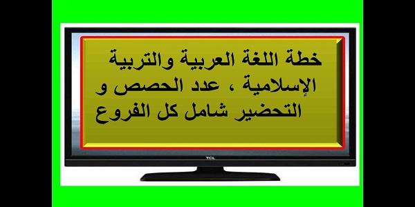 خطة اللغة العربية