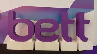 Valokuva, missä on tekstinä tapahtuman nimi BETT.