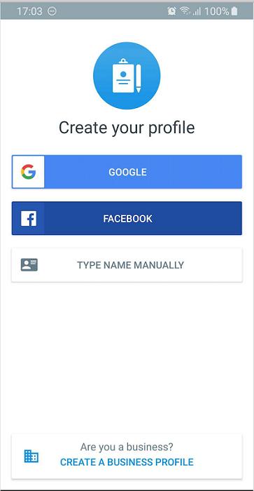 create business profile truecaller