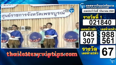 Thailand Lottery live results 01 December 2018 Saudi Arabia on TV