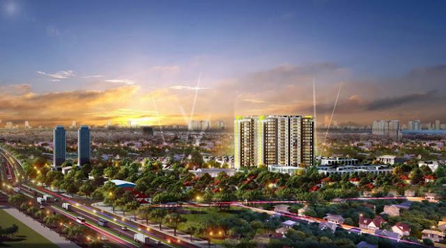 Phối cảnh dự án Osimi Phú Mỹ