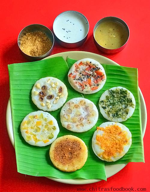 7 taste uthappam