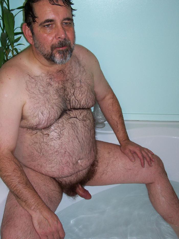 naked older black men