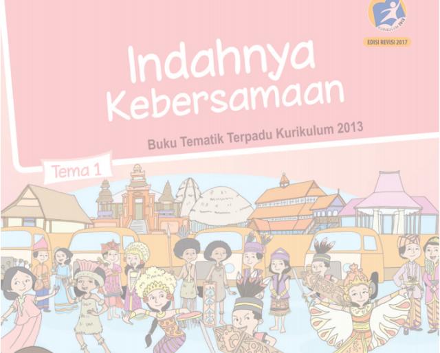 Buku Siswa SD/MI Kelas 4 Kurikulum 2013 edisi Revisi 2017