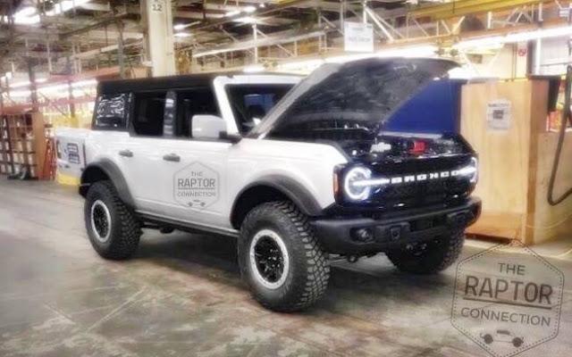 2021 Ford Bronco Raptor Price