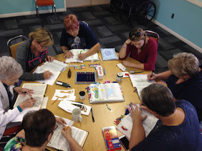 Faith Art Journaling class